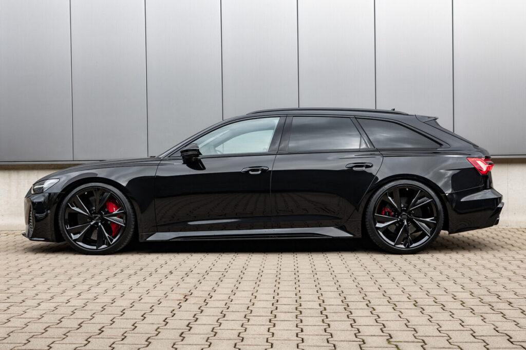 Audi RS6 Gewindefedern Seite
